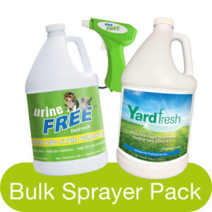 PetFresh YardFresh Bulk Sprayer Pack