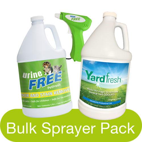 PetFresh YardFresh Bulk Sprayer Pack